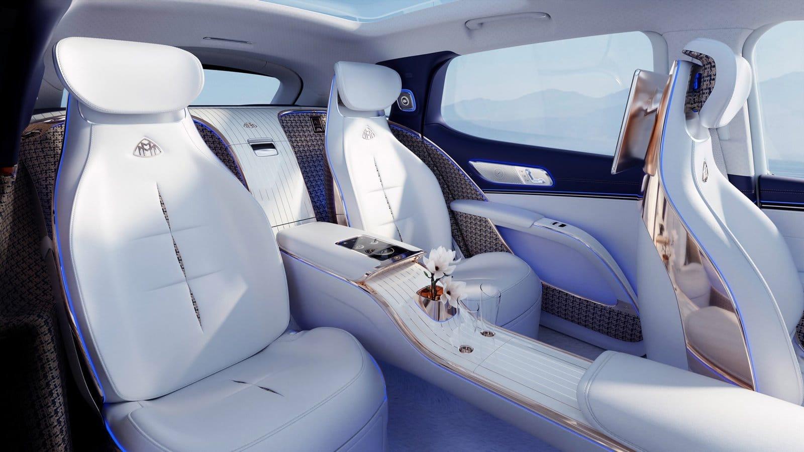Puro lujo para el Mercedes-Maybach EQS Concept