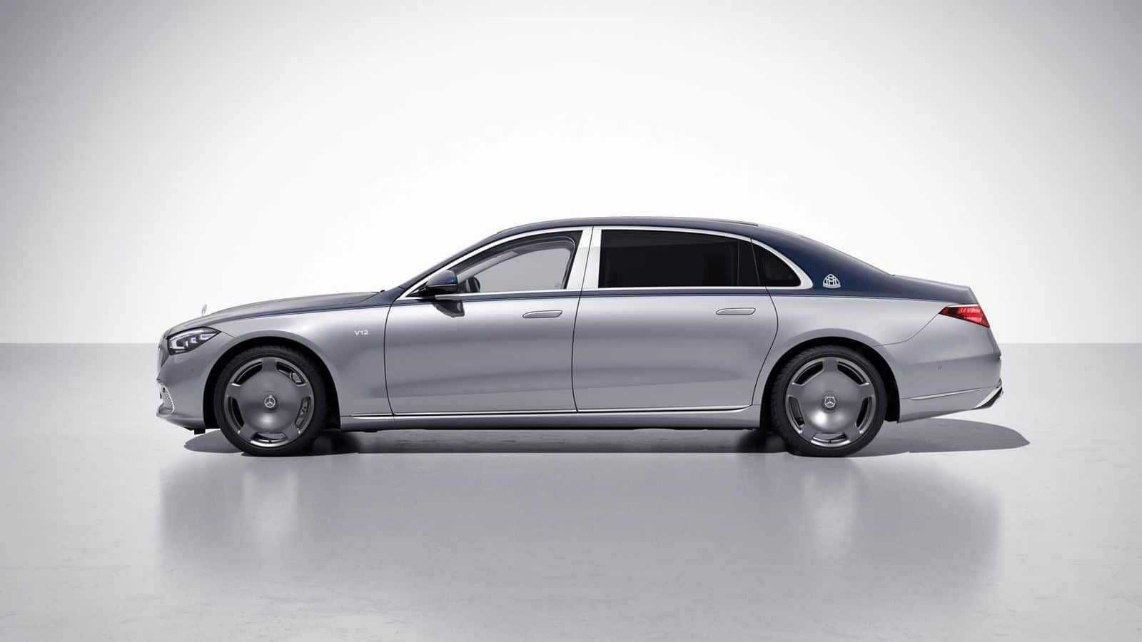 Maybach Clase S lateral