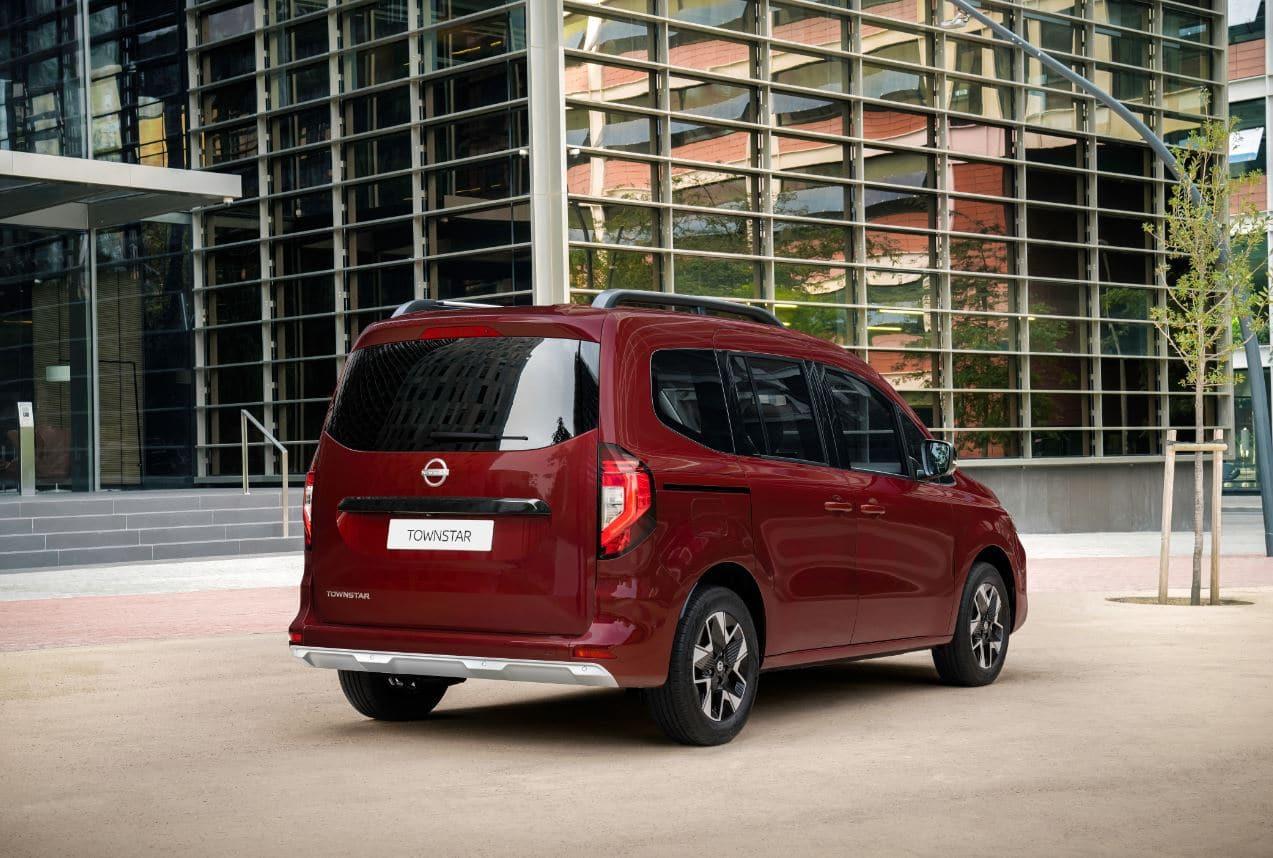 Nissan Townstar pasajeros