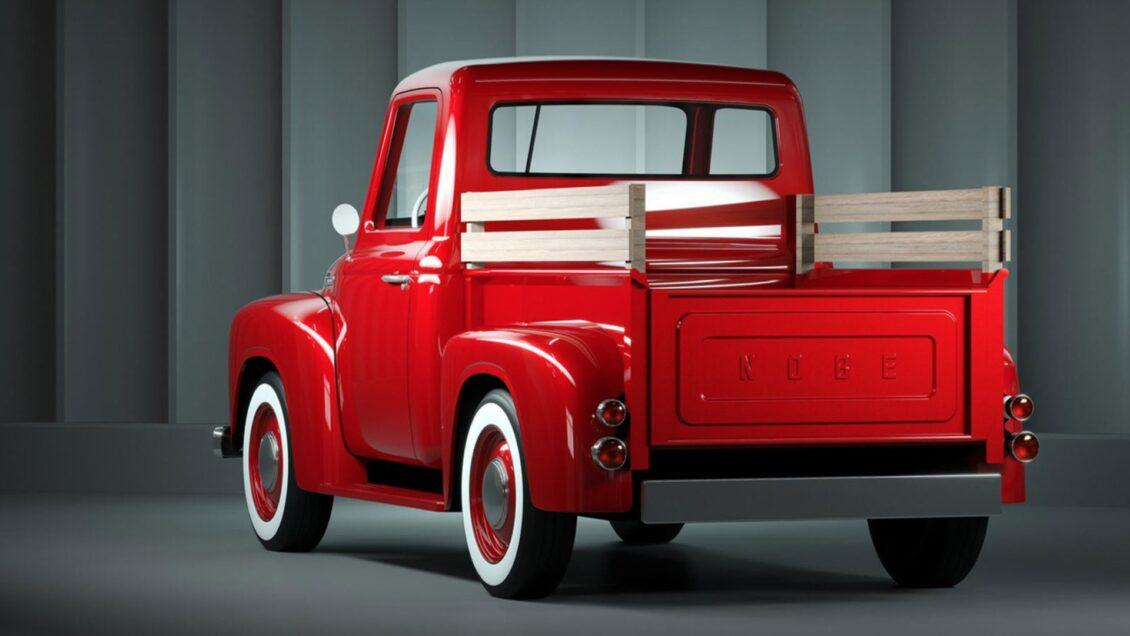 Esta pequena pickup inspirada na década de 1950 chegará no próximo ano