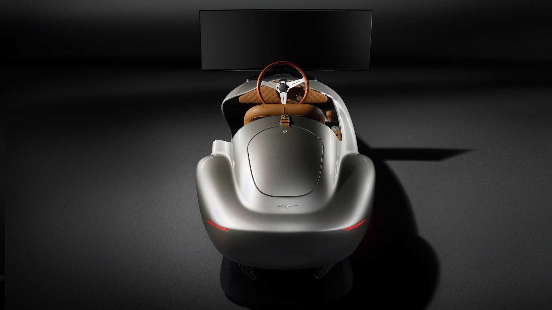 El Pininfarina Leggenda eClassic Simulator se basa en el Cisitalia 202