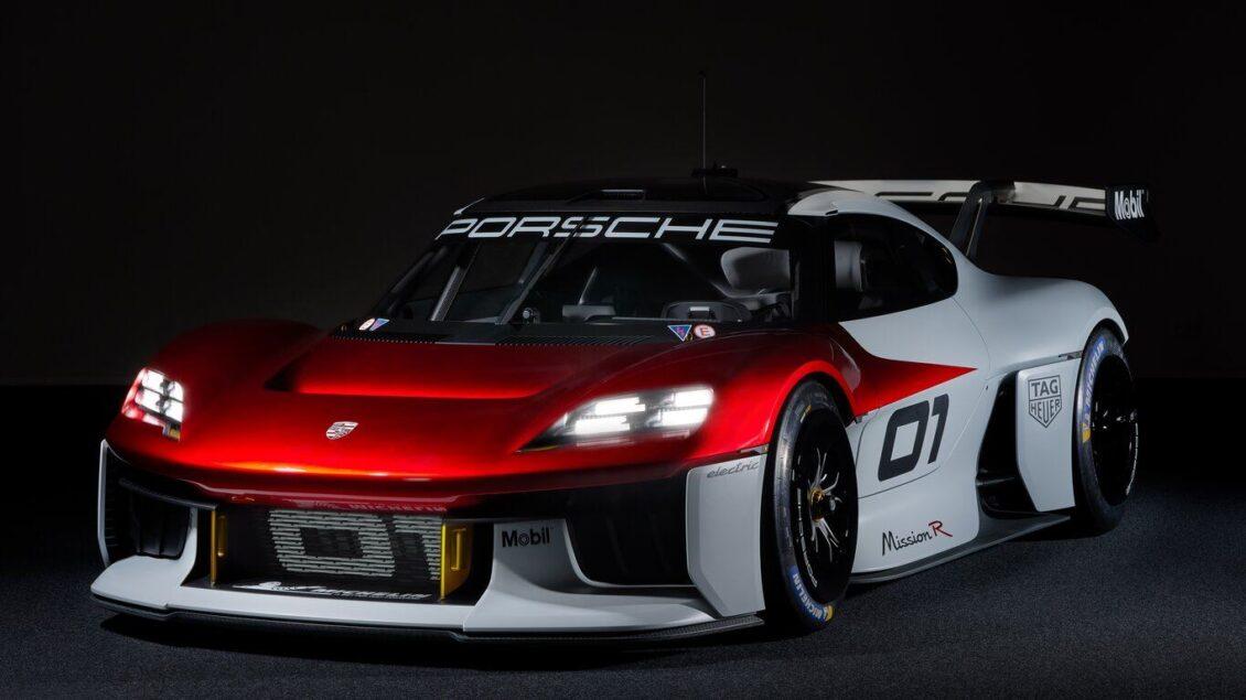 Porsche Mission R o un anticipo del futuro carreras para clientes 100% eléctrico