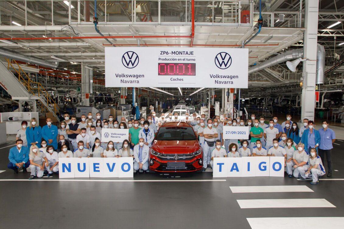 Arranca la producción del Volkswagen Taigo en Navarra: para toda Europa