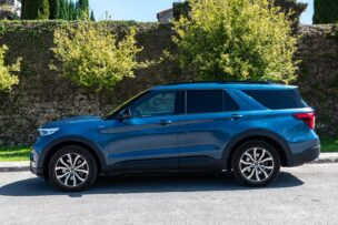 Lateral Ford Explorer 3.0 PHEV AWD