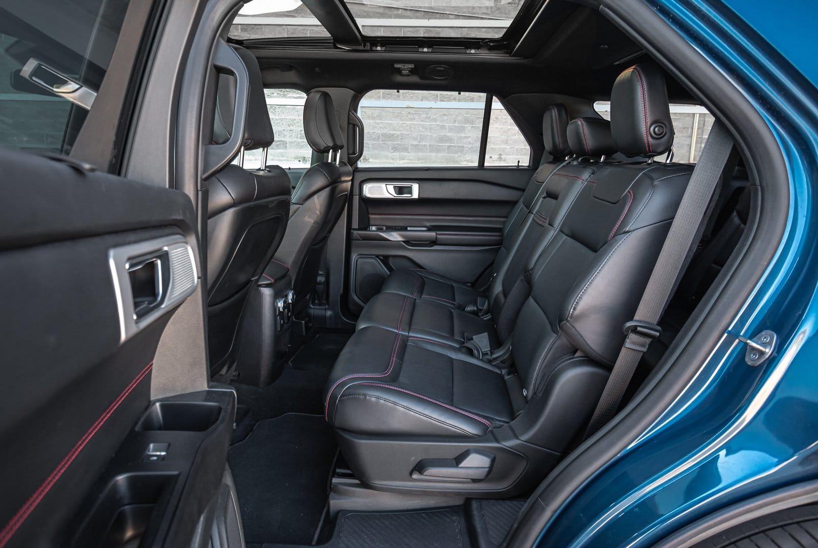 Plazas traseras Ford Explorer 3.0 PHEV AWD