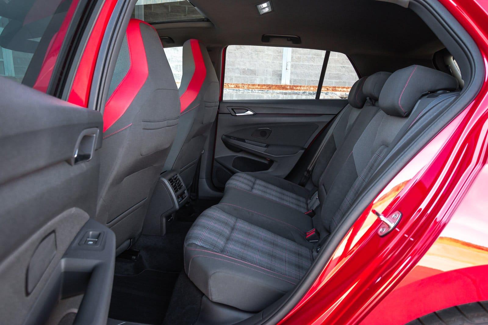Plazas traseras Volkswagen Golf GTI