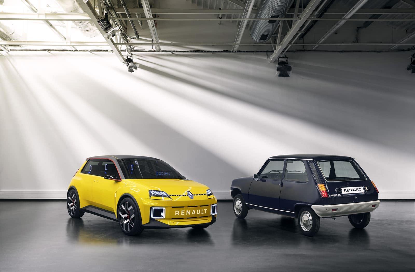 Nuevo Renault 5 vs viejo Renault 5