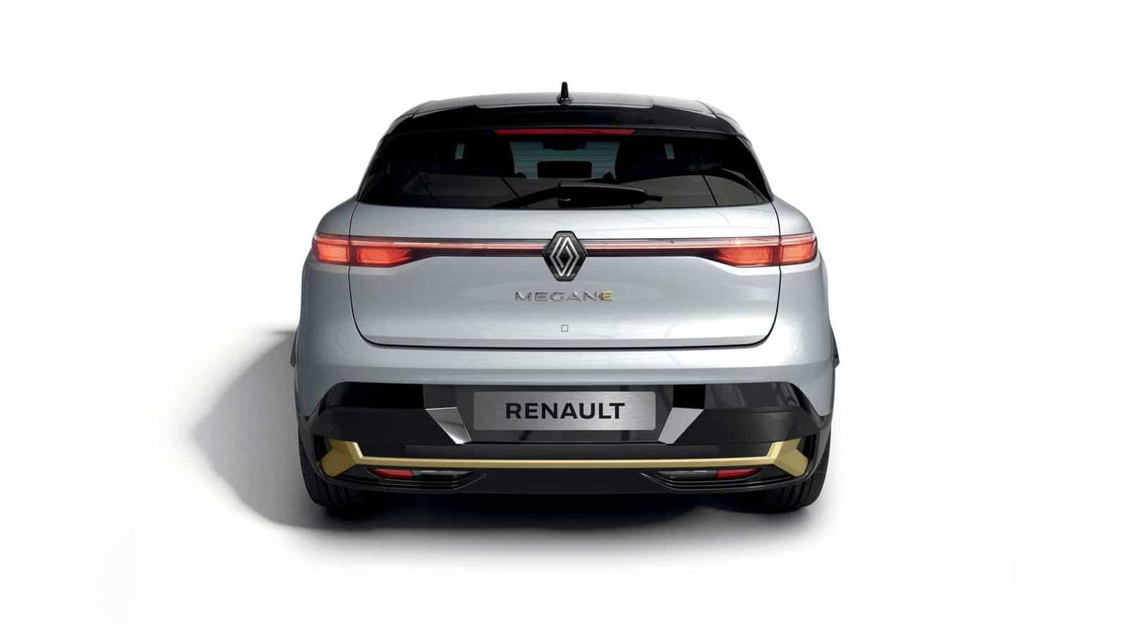 Renault Mégane E-TECH trasera