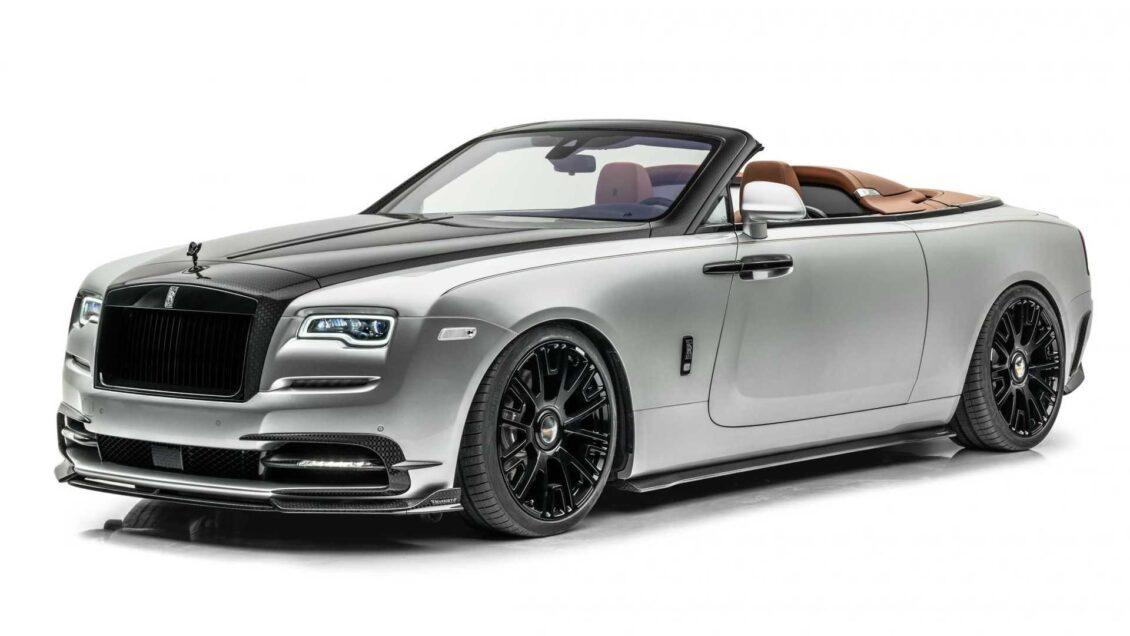 Mucha fibra y hasta 730 CV para el exclusivo Rolls-Royce Dawn Silver Bullet