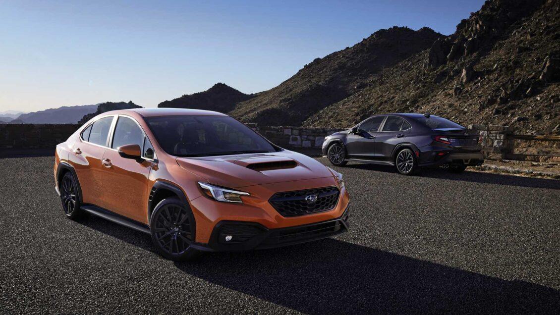 ¡Oficial! Subaru WRX 2022: nuevo motor, plataforma y suspensión adaptativa