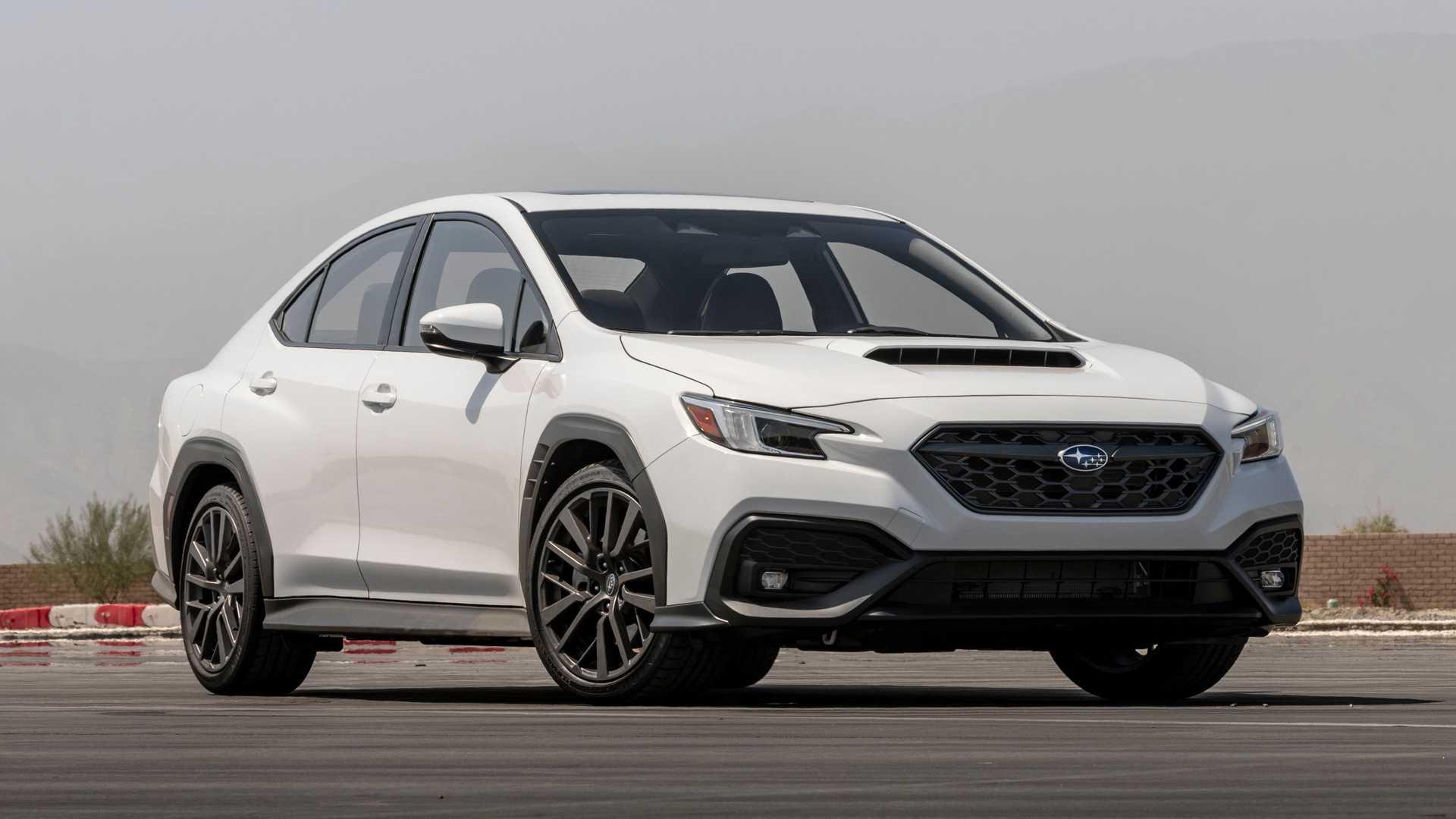 Encontramos novedades en las entrañas del Subaru WRX 2022
