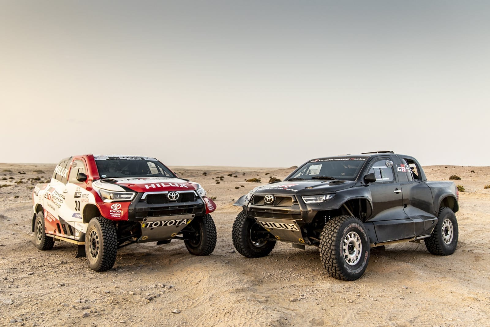La apuesta de Toyota en el Dakar 2022 constará de cuatro vehículos
