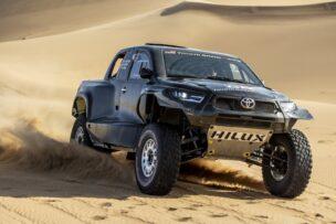 Esta será la apuesta de Toyota en el Dakar 2022