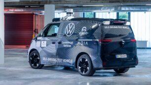 Las pruebas del Volkswagen ID. Buzz AD comenzarán pronto