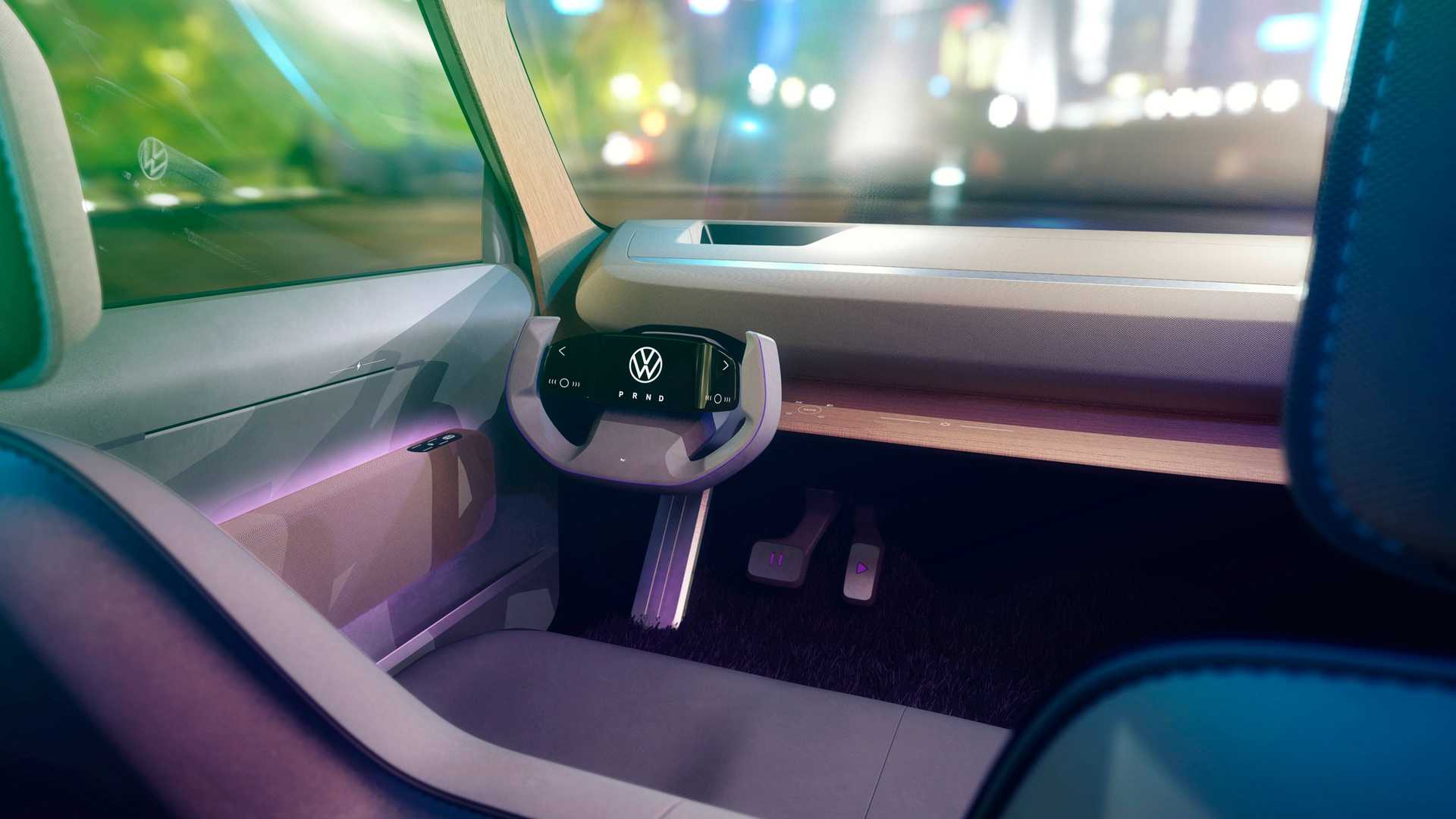 Habitáculo tecnológico y espacioso para el Volkswagen ID. Life Concept
