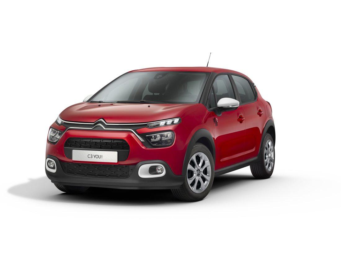 Nuevo Citroën C3 «You!»: Más por menos