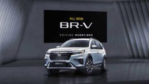 Primeras imágenes del nuevo Honda BR-V 2022