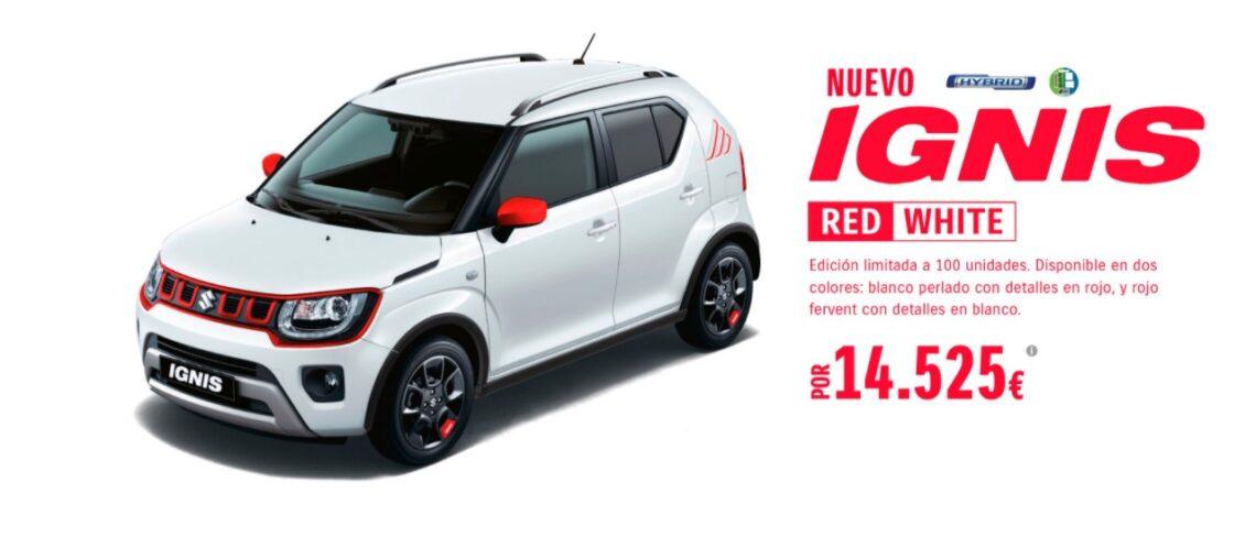 Nuevo Suzuki Ignis «Red&White» con mayor dotación a un menor precio