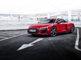 Caballos extra para el Audi R8 V10 performance RWD: no le sientan nada mal