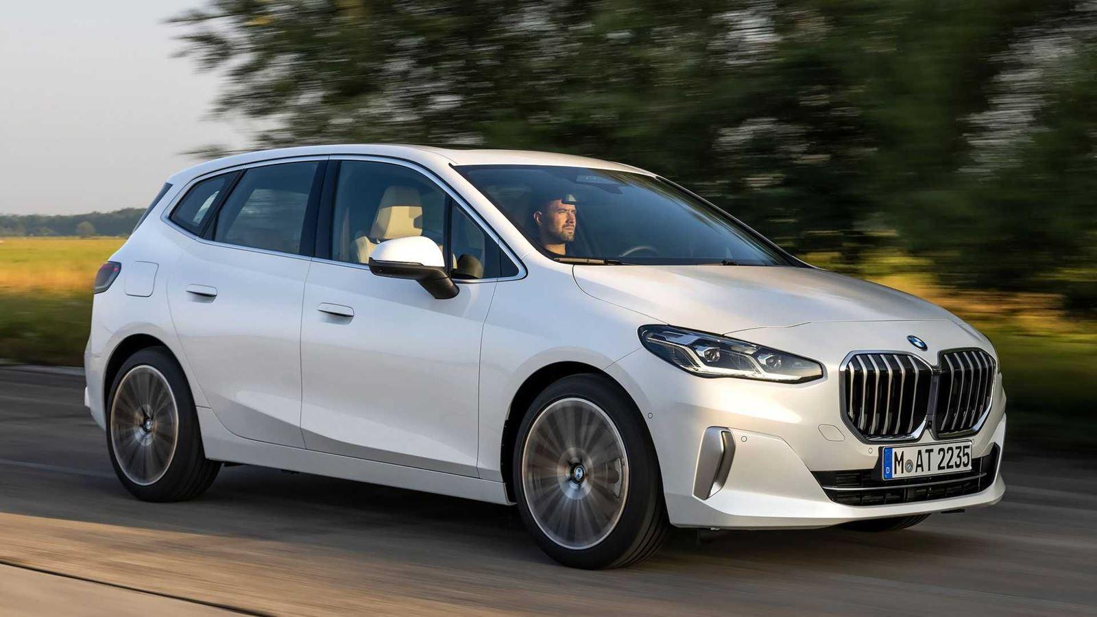 BMW Serie 2 Active Tourer dinámica blanco
