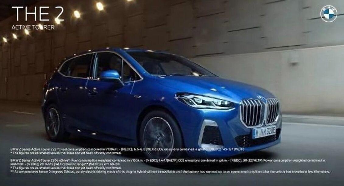 ¡Filtrado! Ya puedes ver al descubierto el BMW Serie 2 Active Tourer 2022