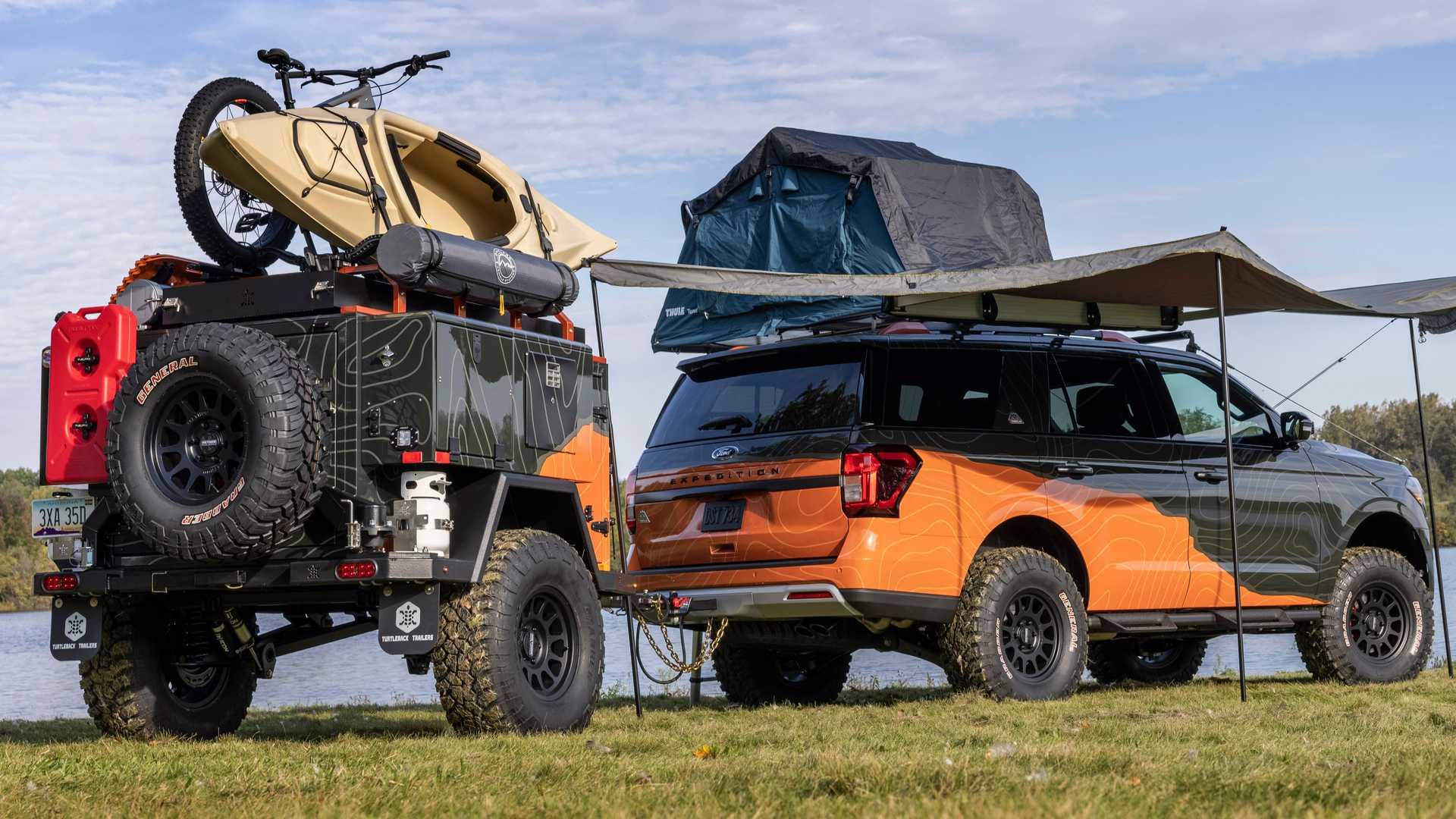 El Ford Expedition Timberline Off-Grid es más completo que muchas camper