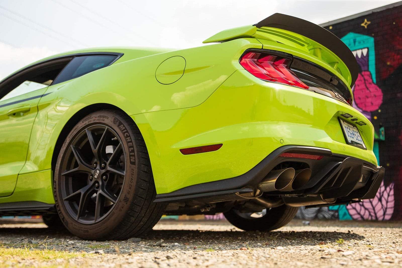 El Ford Mustang RTR 2021 tiene una estética más agresiva