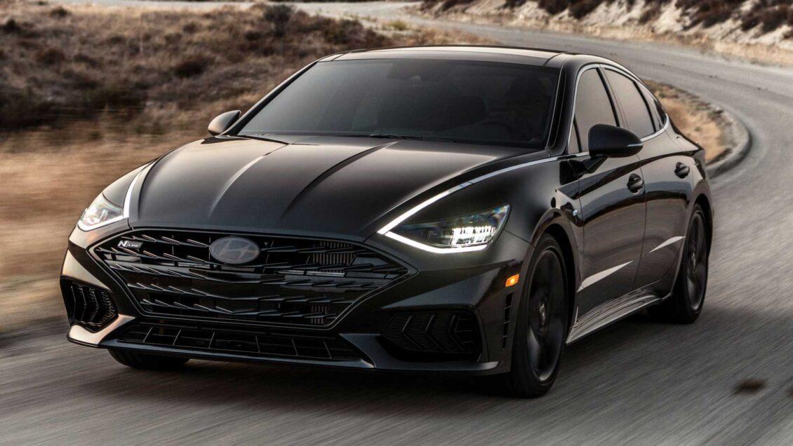 Hyundai Sonata N Line Night Edition: todo al negro para 1.000 ejemplares