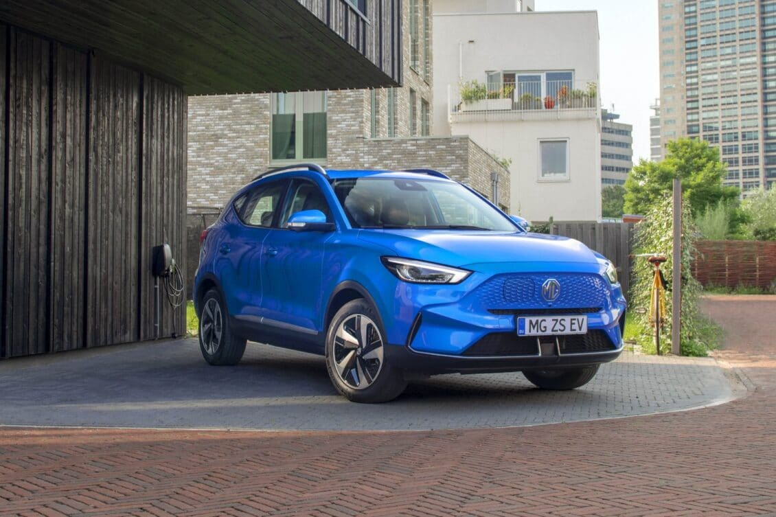 Oficial: Nuevo MG ZS EV 2021