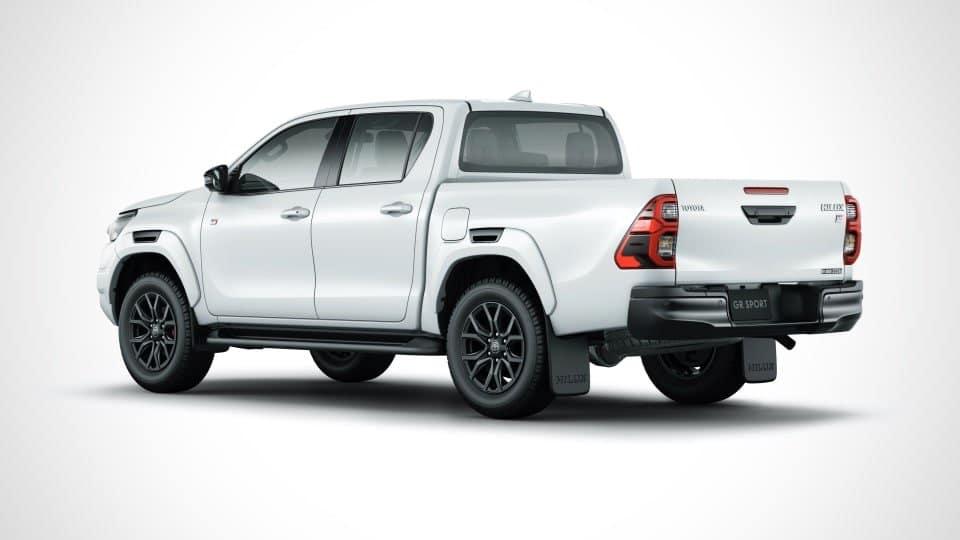 El Toyota Hilux GR Sport tiene un estilo más deportivo