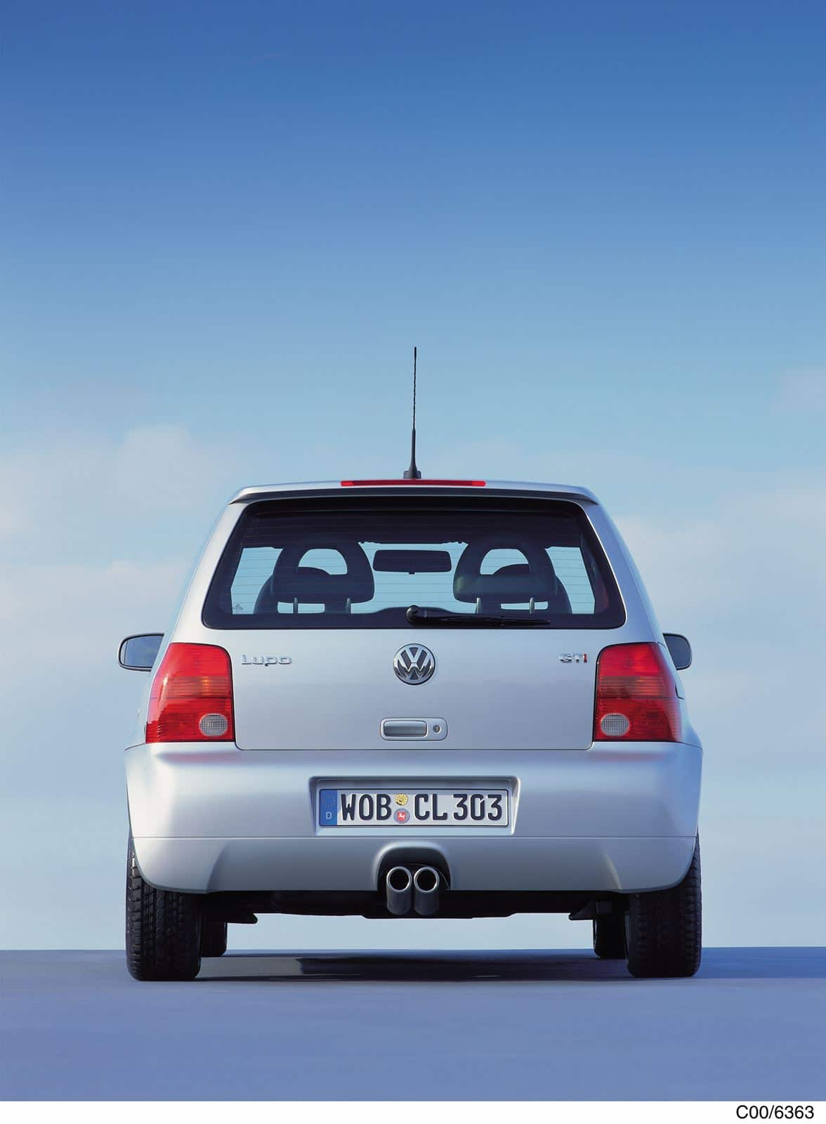 Volkswagen Lupo GTI trasera