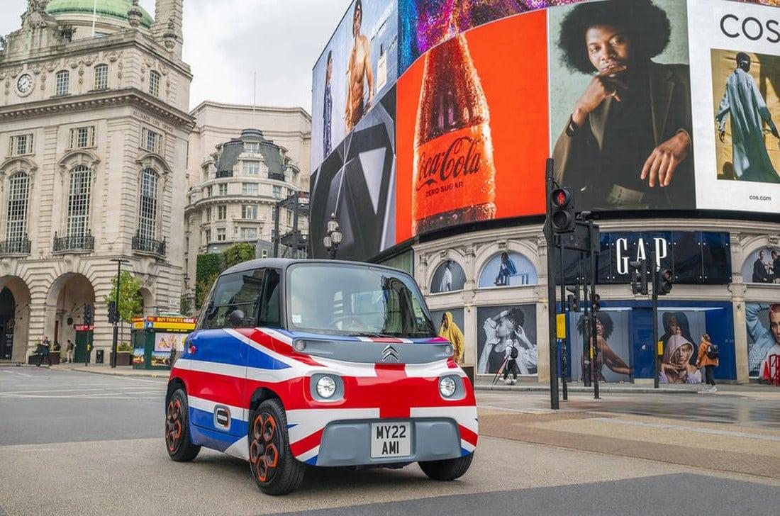 El Citroën AMI seduce a los británicos: Mil reservas en unos días