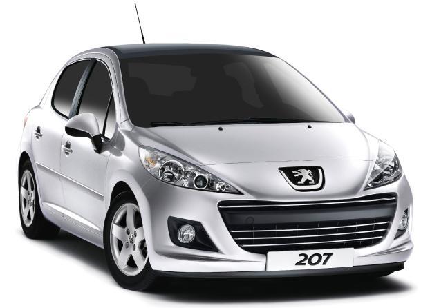 Con la música a todas partes: Peugeot 207 S.E 40 Principales