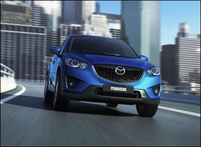 El nuevo Mazda CX-5 con aires de INFINITI….
