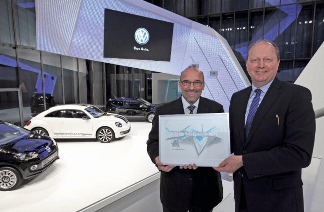 El pabellón de VW en Wolfsburg reabre sus puertas