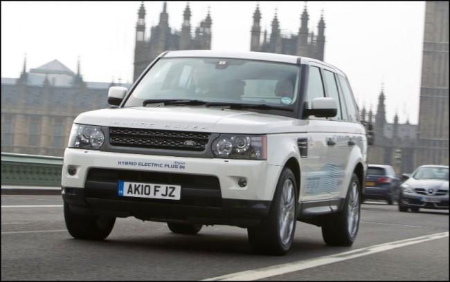 Land Rover prueba 5 prototipos híbridos