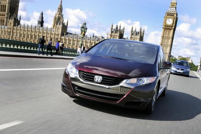 El cuarteto de híbridos de Honda: FCX Clarity, Insight, CR-Z híbrido y Jazz