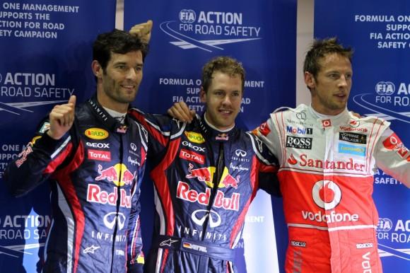 GP Singapur: Vettel gana pero el sueño tendrá que esperar