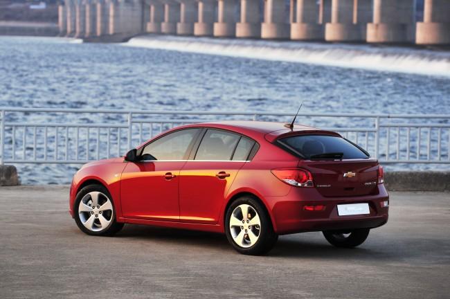 El nuevo Chevrolet Cruze con 5 puertas