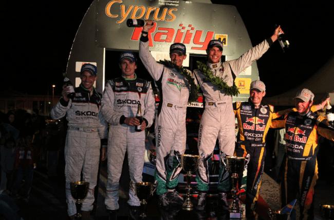 Andreas Mikkelsen campeón del Intercontinental Rally Challenge 2011