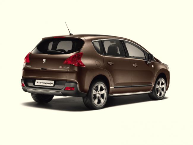 Peugeot lanza la serie especial 3008 Napapijri