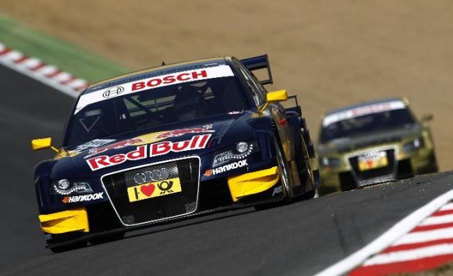 El broche final para Audi en la DTM
