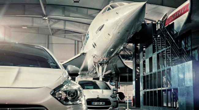 El Citroën DS5 se reúne con el Concorde