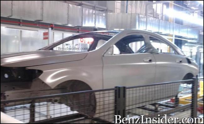El nuevo Mercedes-Benz ¿BLS?