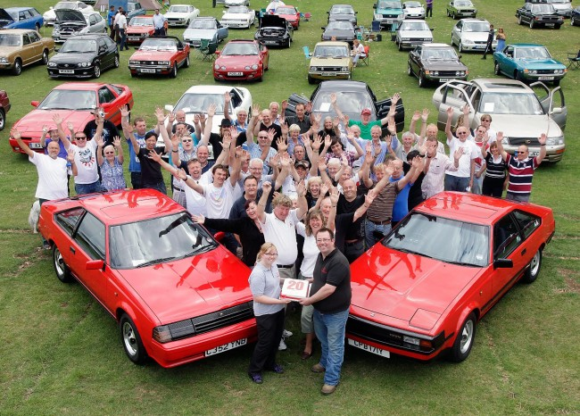 El Club de Entusiastas de Toyota cumple 20 años