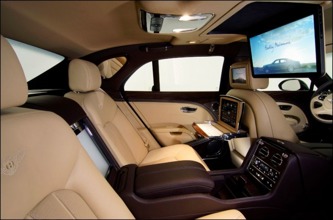 Bentley Mulsanne Executive Interior Concept: Una auténtica oficina móvil