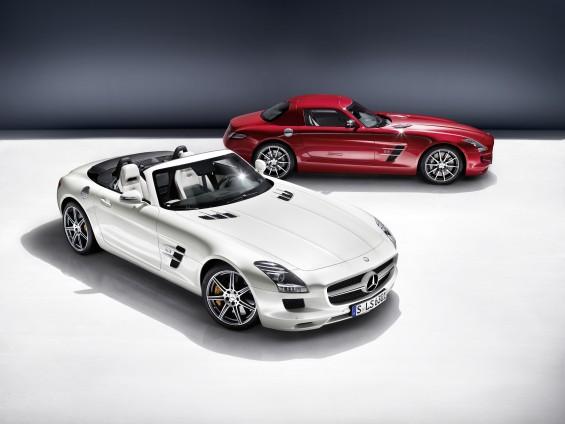 El centro de todas las miradas: Nuevo SLS AMG Roadster
