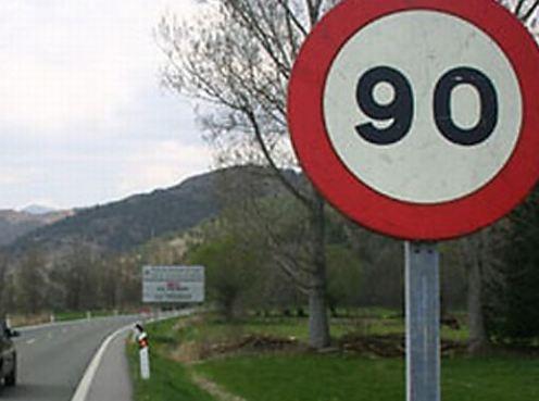 ¿De 100 km/h a 90 km/h en secundarias y de 120 km/h a 130 km/h en autovías?