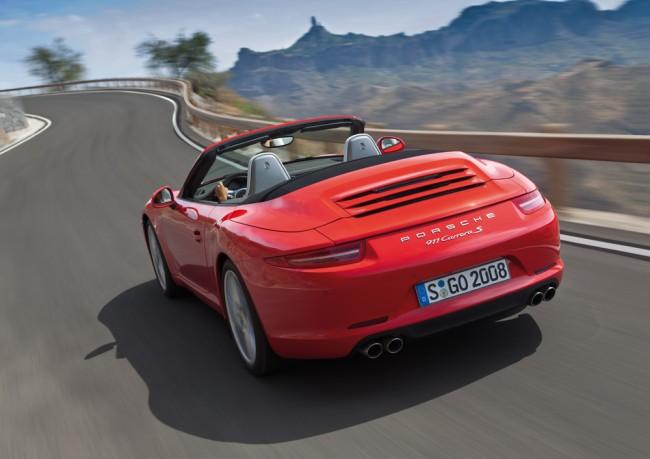 Debut del Porsche 911 Carrera Cabriolet