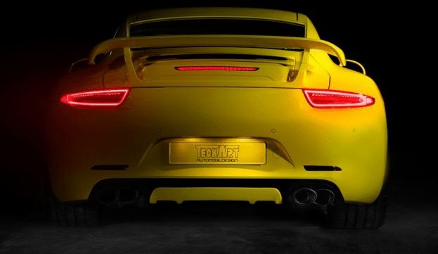 Un kit para el Porsche 911 de la mano de Tech Art